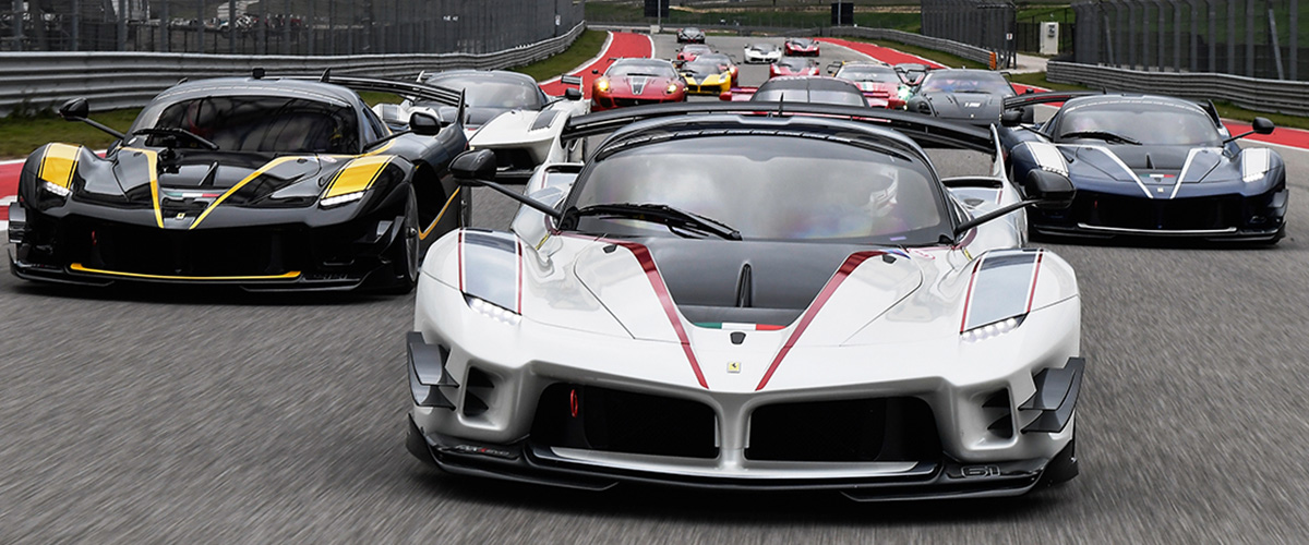 Ferrari Driving School header