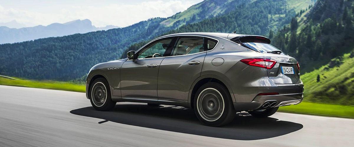 2018 Maserati Levante header