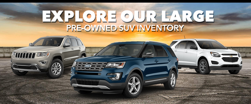 Explore Our Large Pre-Owned SUV Inventory