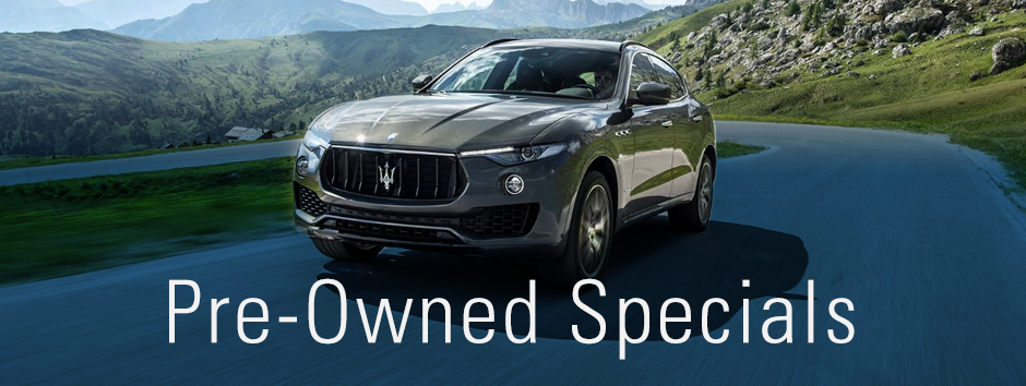 Pre Owned Specials at Wide World Maserati