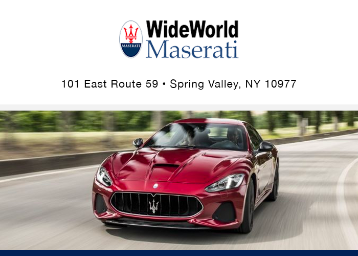 Maserati of Palm Beach, 3974 Okeechobee Blvd., West Palm Beach, FL 33409